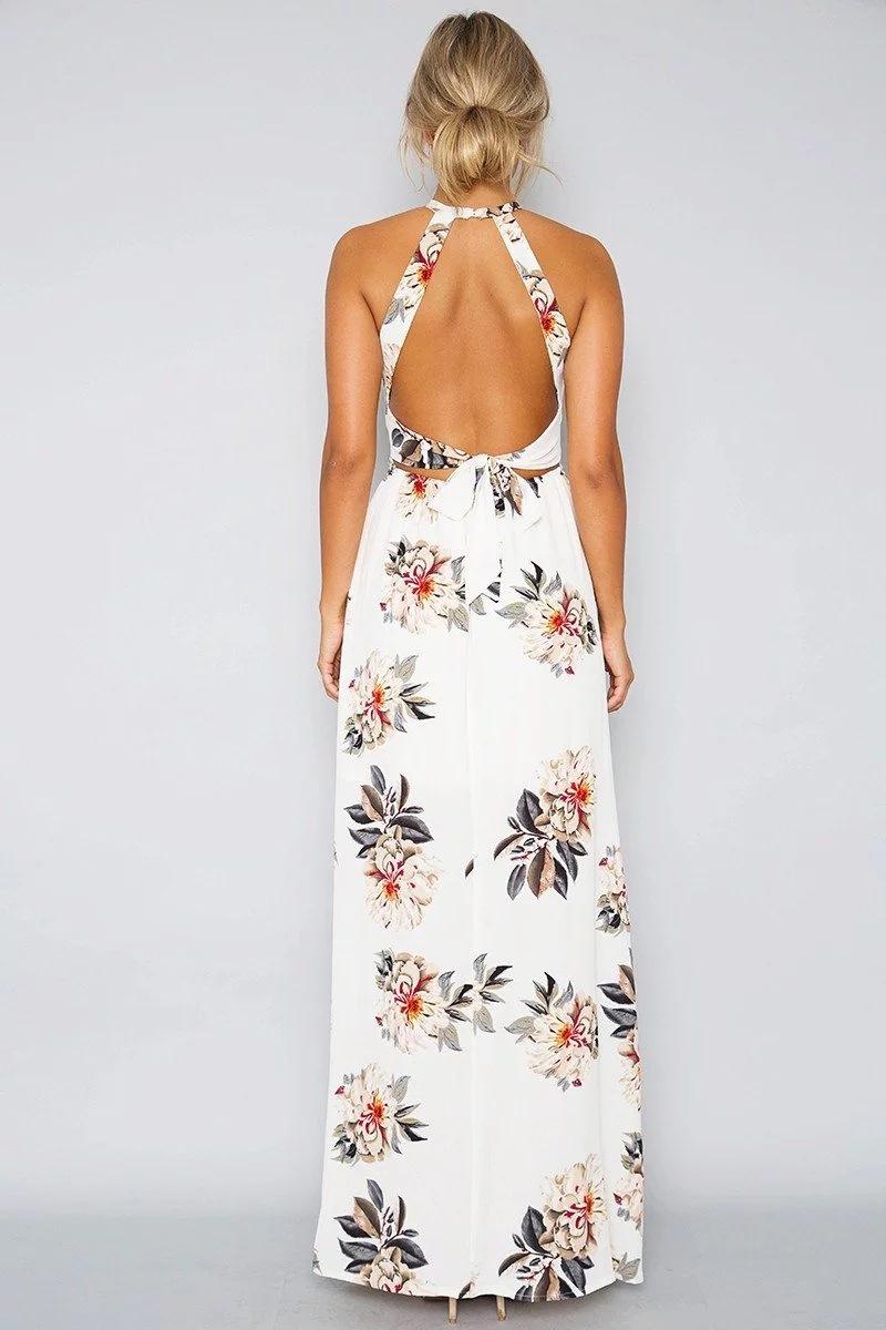 HTB1rIU5PFXXXXb8XVXXq6xXFXXXe - Women Long Sleeveless Floral Maxi Dresses JKP075