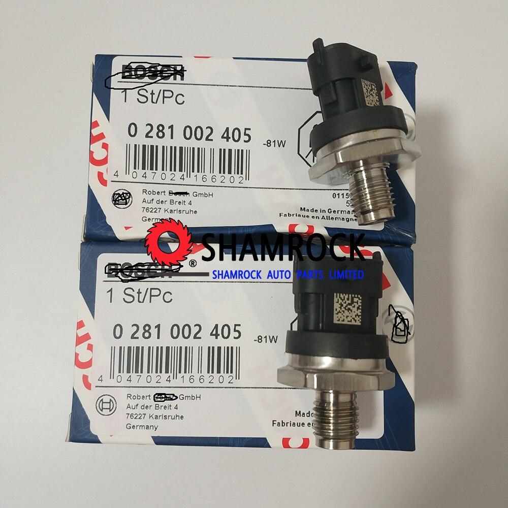 Fuel Rail Pressure Sensor Common Regulator OEM 0281002405 0281002788 for BBMW FFIAT Hyyundai KKIA NNISSAN RRENAULT