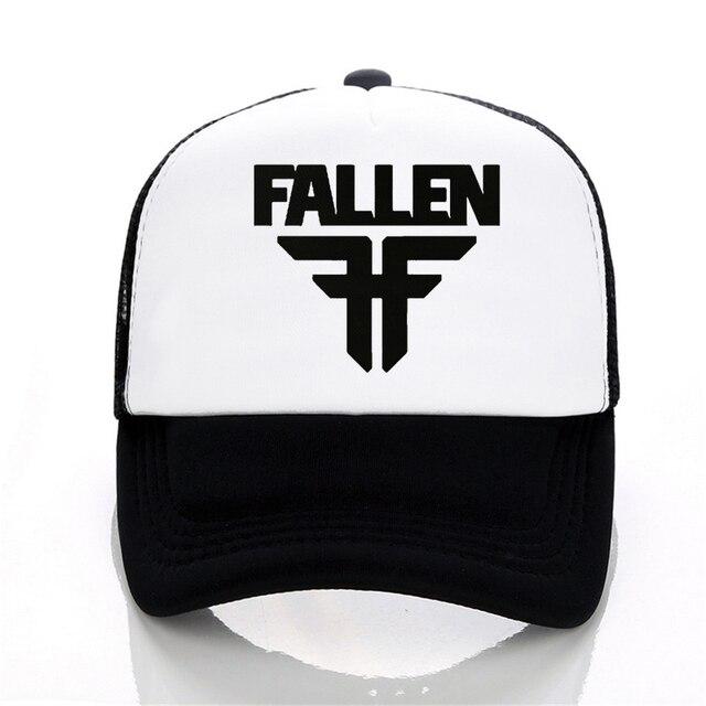 a9913adde38c39 Fallen band Baseball cap Summer Men Women Mesh Net Trucker Sport Caps Hat