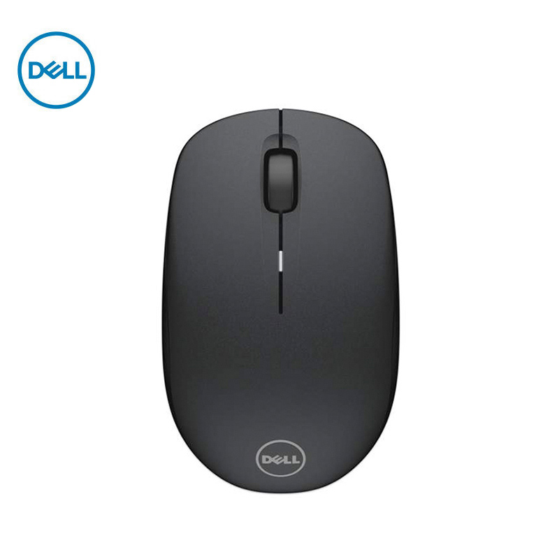 Dell MS116 Mouse Cable Computer Desktop Office All-in-one Laptop Home Mouse Black / White With USB