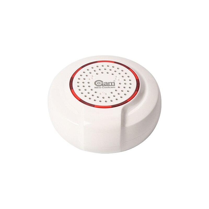 NEO COOLCAM NAS-AB01Z Z-wave Wireless Siren Alarm Sensor Compatible with Z  wave Plus Sensor Alarm Home Automation Alarm
