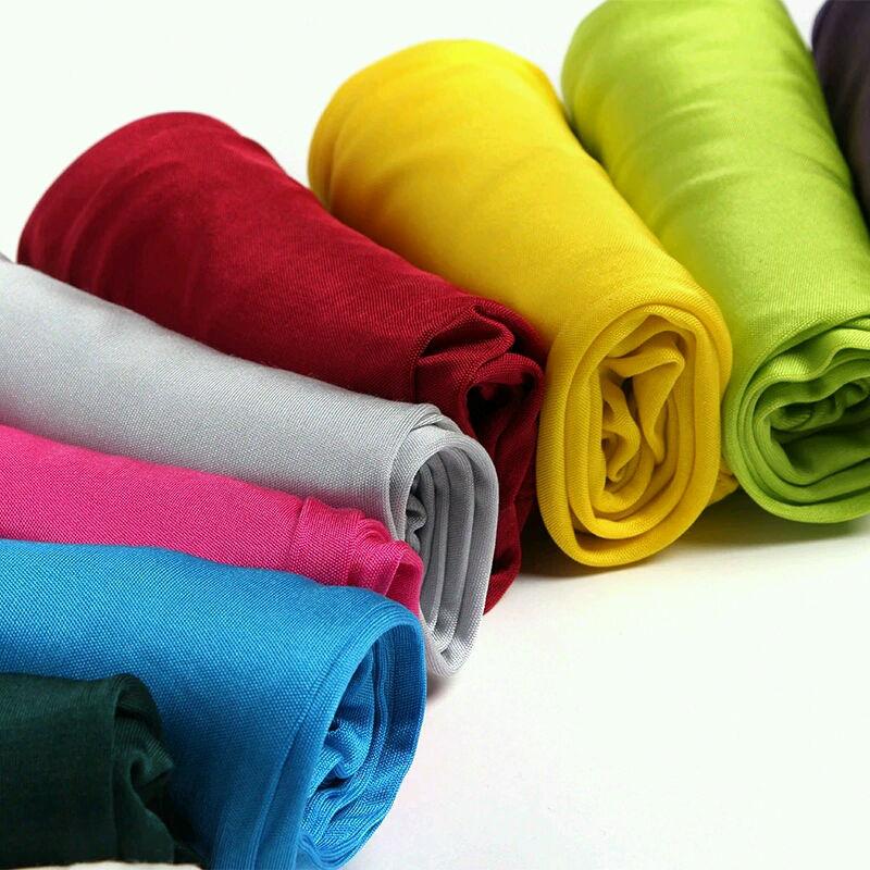 Kvinnor Leggings 100% Real Silk 3/4 längd byxor slim leggings Plus - Damkläder - Foto 5