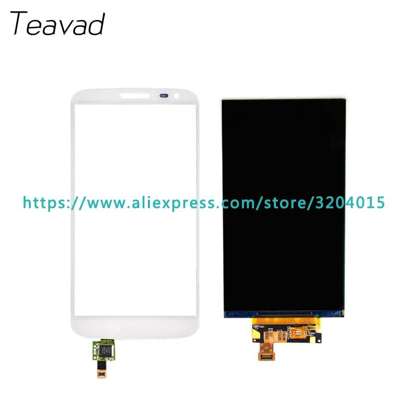 Ersatzteil 4,7 ''Für LG G2 mini D620 D618 LCD-Display und Touchscreen Digitizer Sensor + Tracking Code