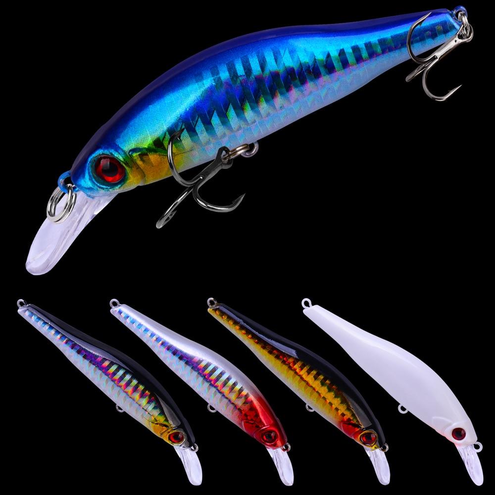 5Pc/Lot 2018 Fish Fishing Lure Artificial Hard Bait 5