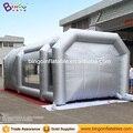 9 m * 4 m * 3 m Barraca inflável Tipo de cabine de pintura/cor prata inflável cabine de pintura spray para venda BG-A1236 brinquedo tenda