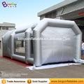 9 m * 4 m * 3 m Carpa inflable Tipo de cabina de pintura/color plata inflable cabina de pintura aerosol venta BG-A1236 tienda del juguete