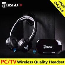 Original bingle B616 Computer TV Earphone Multifunction Wireless Headset Headphone with FM Radio for MP3 PC TV Audio