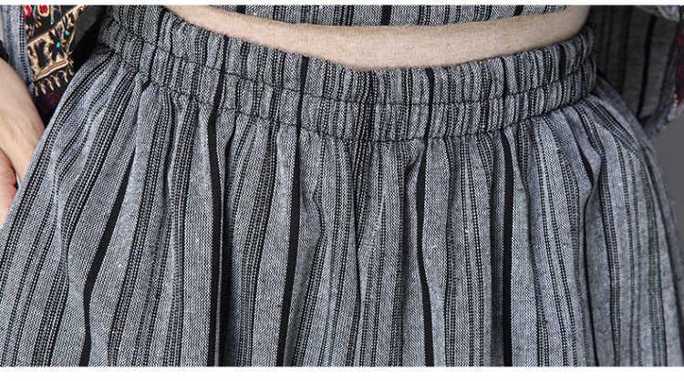 春コットンリネン2ピーススーツ2018夏新インディー民俗女性服t-シャツ+ワイド脚パンツスーツ女性カジュアル緩いセット