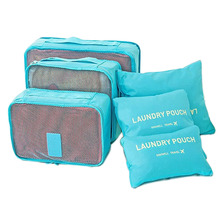 Travel Storage Bags Sets Clothes Tidy Organizer Waterproof Nylon Closet Divider Container