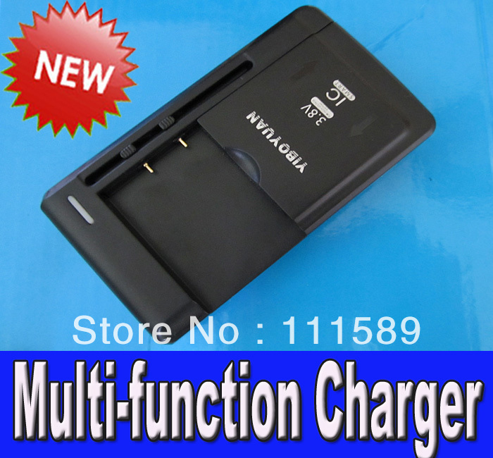 NEW 5pcs/lot YIBO YUAN USB/AC Multi-function Charger For Samsung S S2 S3 i9500 i9200 N7100C All Mobile Phone battery charger