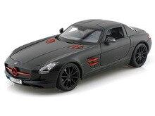 Maisto 1:18 Mercedes-Benz SLS AMG Diecast Model Car Toy Nuovo In Scatola Spedizione Gratuita