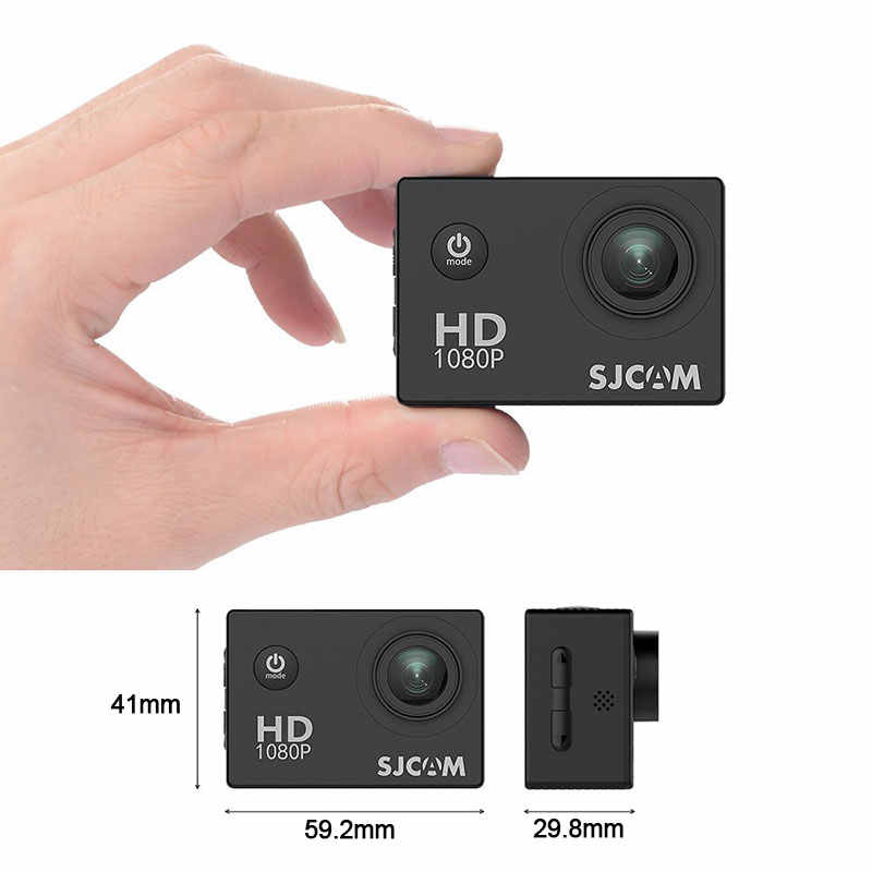 SJCAM SJ4000 Action Camera Olahraga DV 1080P HD Penuh 2.0 Inci Layar Menyelam 30 M Tahan Air Mini Camcorder Asli SJ 4000 Cam