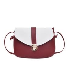 PU Leather Mini Hasp Messenger Bag Patchwork Women Crossbody Handbags Female Shoulder Bag Chain Lock Luxury Designer Flap Totes