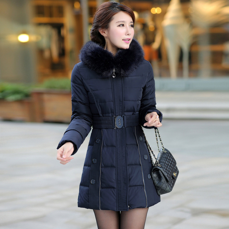Aliexpress.com : Buy 2015 Women's winter coat slim ladies parkas ...