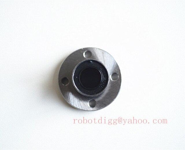 Quality 4pcs LMF12UU 12mm Flang Linear Bearing Router Shaft Bearing CNC