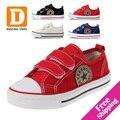 Star Classic Zapatos de Los Niños de 4 Colores Nuevos 2017 Niños Ocasionales Niñas Zapatos de Lona Para Niños Zapatillas de Moda zapatillas Deportivas de Goma Simple