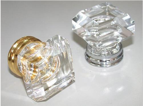 Crystal Knob Dresser Drawer Knobs Pulls Kitchen Cabinet Knobs Silver Sparkly Bling Hardware