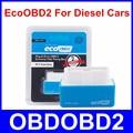 Синий EcoOBD2 Дизельных Автомобилей Чип-Тюнинг Box Eco OBD2 Подключи и Драйв Топлива и Низкий Уровень Выбросов NitroOBD2 Бесплатная Доставка