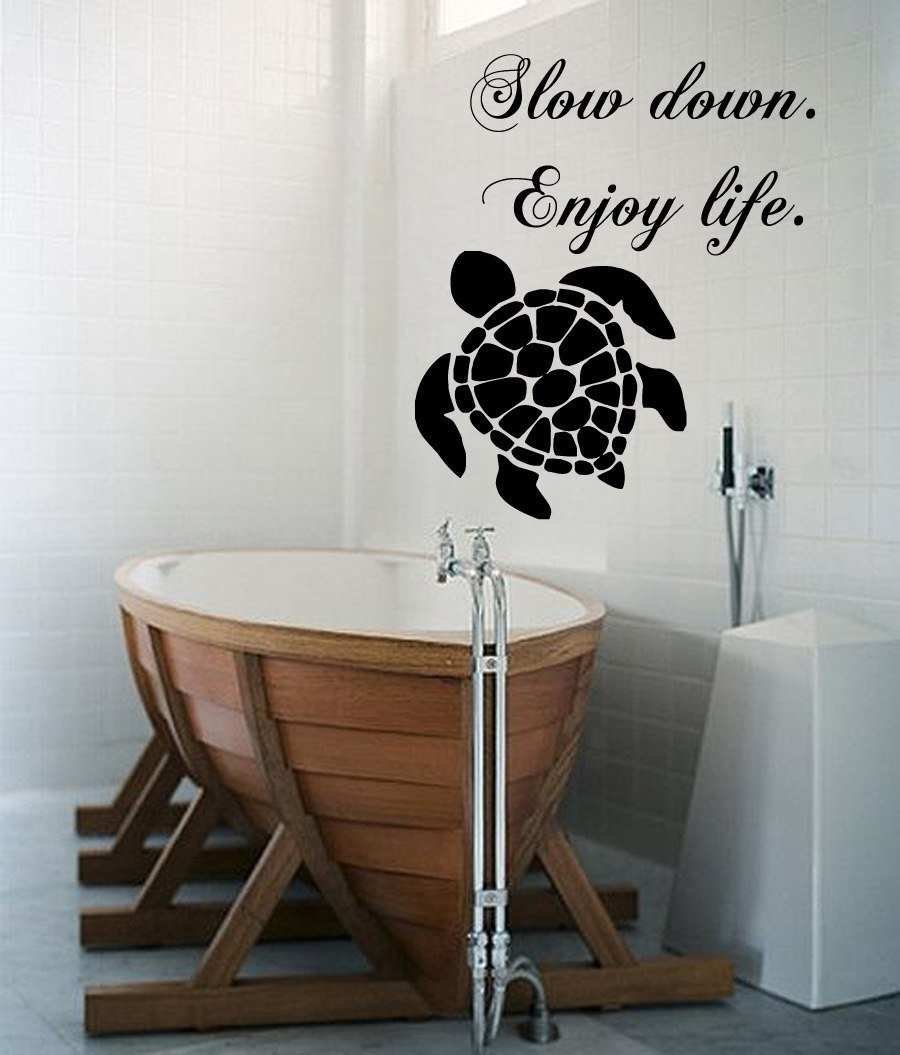 Turtle wall stickers home decorating interior design bath turtle wall stickers part 18 sea turtle puppy grooming salon wall sticker pet store amipublicfo Gallery