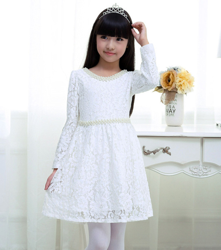 Girl Clothes Designs 2 13years Girls Lace Dress Baby Girl