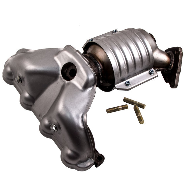 Catalytic Converter With Exhaust Manifold Fit 96 2000 Honda Civic 1 6l Front 674 439 20 18160 P2e A00