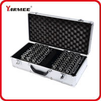 One Set YARMEE VHF Wireless Tour Guide System VHF Frequency Wireless Microphone Transmitter Receiver Earphone