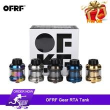 Original OFRF Gear RTA Tank 24mm Diameter Single Coil Atomizer Innovative ultra-short airway rapid steam system E Cigarette