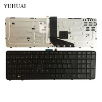 NEW Spanish Laptop Keyboard For HP Zbook 15 Zbook 17 733688 171 SP Black Layout Backlit