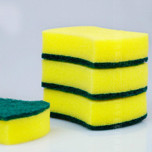 5pcs/lot Cleaning sponge washing eraser kitchen home furnishing convenient saving-time wholesale household accessory supplier