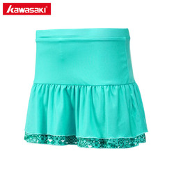 Kawasaki women s summer sports skirt with shorts badminton tennis skorts breathable anti leakage yoga jogging.jpg 250x250