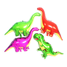 1Pcs Giant Dinosaur red/green Foil Balloon dinosaur party Balloons Birthday Party Decorations Kids toy globos