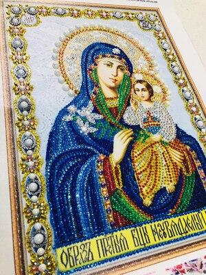 8006 300 5D DIY Diamond Embroidery Beadwork Icons Religion Diamond Painting 3D Crystal glass Drill Diamond Mosaic Religious Pearls pattern rhinestone Bead Orthodox home decor  (3)