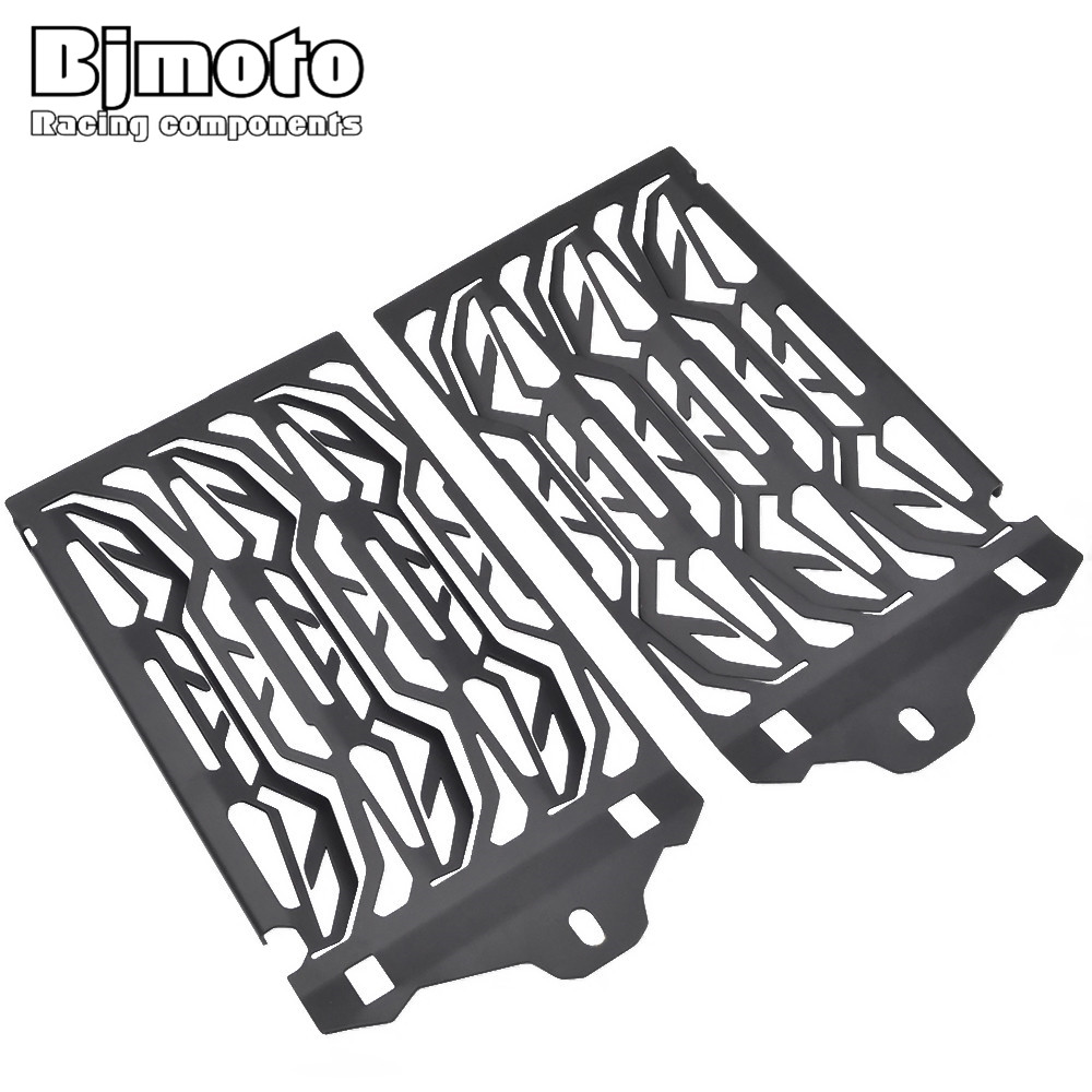 BJMOTO For BMW R1200GS GSA ADV Adventure Water-Cooled 2013-2017 Radiator Bezel Grill Guard Cover Protector
