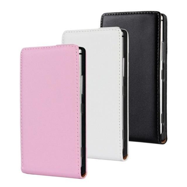 Para nokia lumia 925 mobile teléfono flip caso cubierta de cuero fundas bolsa pa