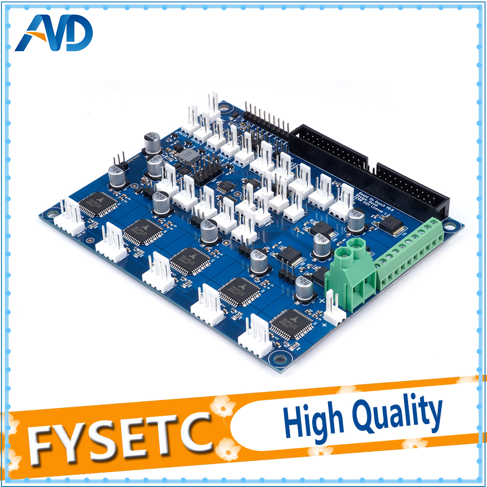 Carte d'extension Duex5 DueX clonée avec Support TMC2660 pour Thermocouple ou cartes fille PT100 pour imprimante 3D et Machine à CNC - 3