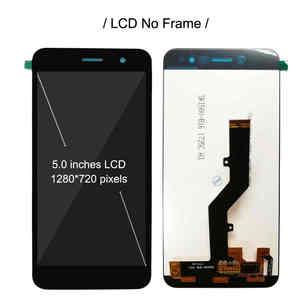 "Image 2 - ZTE 블레이드 A520 용 프레임이있는 5.0 ""LCD ZTE A520 A 520 디스플레이 용 전체 LCD 디스플레이 터치 센서 스크린 디지타이저 센서 어셈블리"
