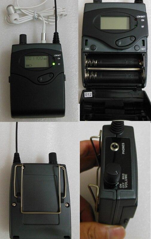 Dla hurtownika Professional in ear monitor systemu wireless G2 stage ear monitory nadawcy otrzymują dobrą jakość dla odsprzedawcy odsprzedaży