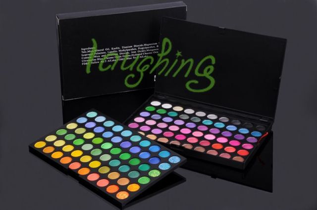 Free shipping Pro 120 Full Color Eyeshadow Palette Eye Shadow Makeup #120-1