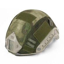 CS Быстрый Шлем тактический шлем Крышка армейский вентилятор шлем для пейнтбола Wargame gear чехол для спорта пешего туризма кемпинга съемки