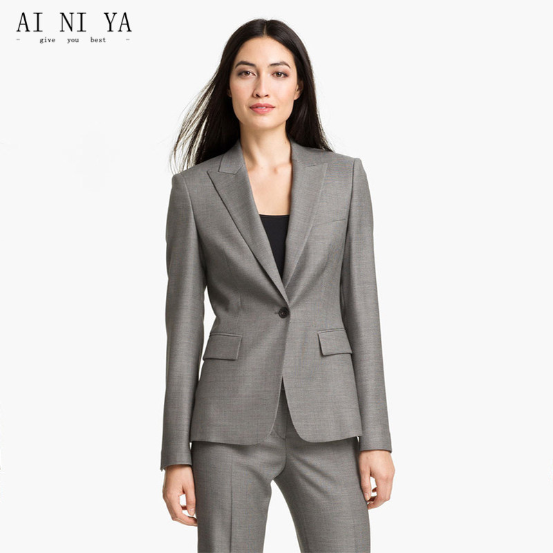 Women Pant Suits Female Office Uniform Formal Women Suits with Pant + Blazer Set Womens Business Suits Office Uniform Style