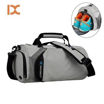 Нейлоновая Мужская и женская спортивная сумка, водонепроницаемая походная сумка для фитнеса, спортивная сумка для занятий йогой, спортивна...