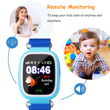 Q90 kids GPS Smart baby Watch