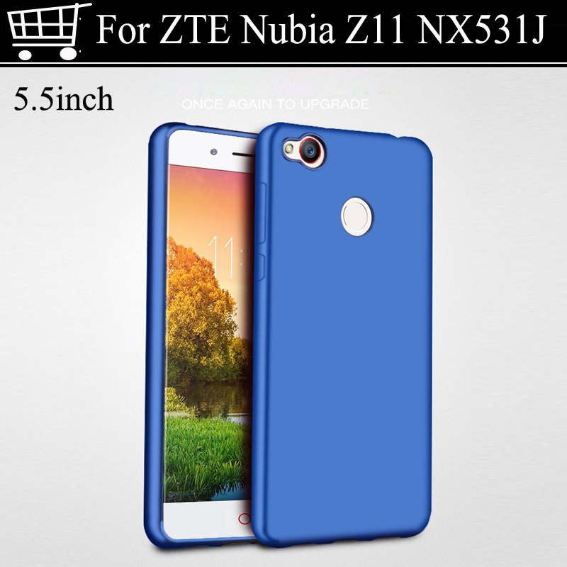 buy popular ac6ad d40a4 US $7.7 8% OFF|Luxury For ZTE nubia z11 NX531J Case cover 360 Full body  cases Hard Frosted PC back cover for ZTE nubia z 11 case covers 5.5