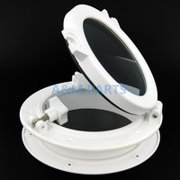 Marine Porthole Window Round Boats Window Portlights Yacht Hatch 8 5 White