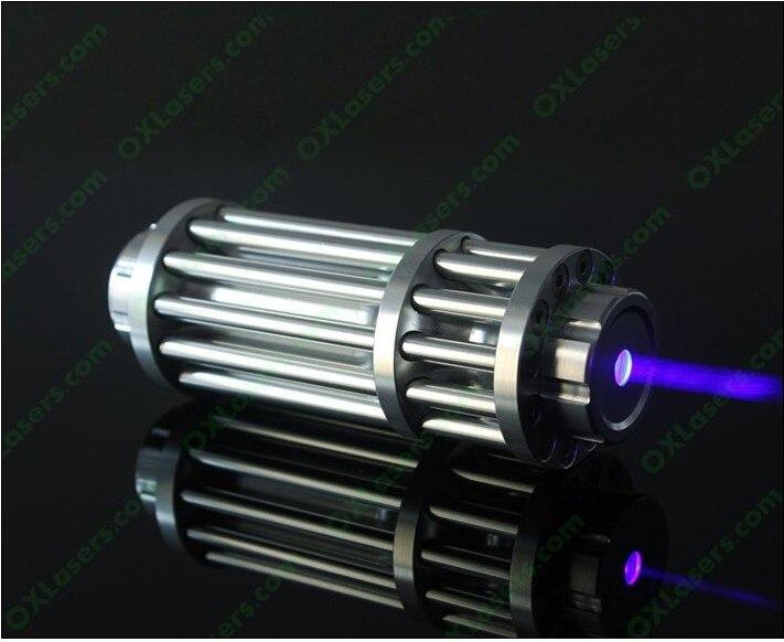 200 m 200000 W 450nm Ponteiro Laser Azul de alta Potência Multi-padrão Poderosa Queima Lazer Foco Queimadura papel iluminado cigarros + 5 caps