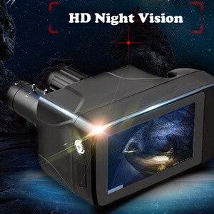 Image 1 - Ultimo Nuovo Disegno HD Binocolo di Visione notturna Digitale Touch Screen Intelligente Laser Multi Funzione Della Macchina Fotografica per Il Monitoraggio Di Notte Record
