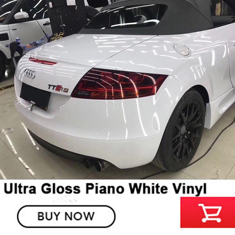 Quarta generazione di super-Ultra Nero bianco Lucido wrapping Pellicola Del Vinile Foglio di Bolla di Spedizione a base di solvente low tack iniziale adesivo