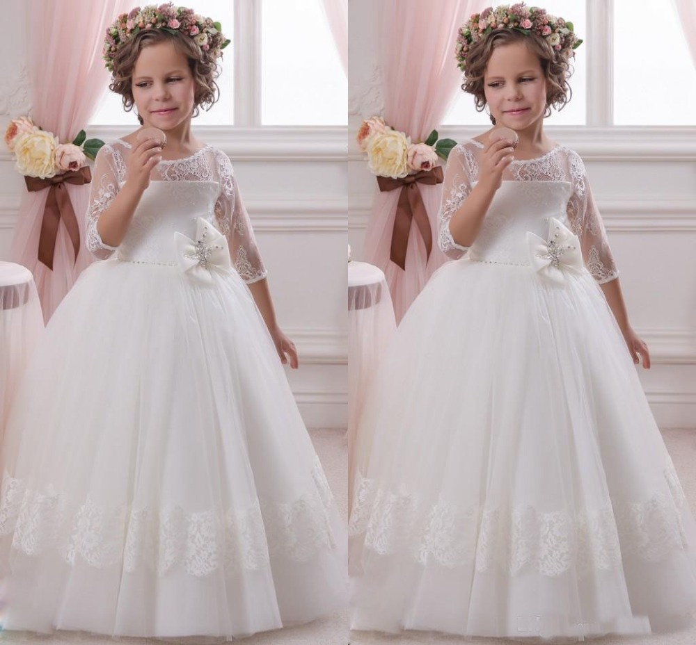 2018 beautiful vintage pretty tulle princess lovery flower girl 2018 beautiful vintage pretty tulle princess lovery flower girl dresses child pageant dresses girl communion party dresses mightylinksfo