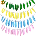 1PC 2M Feathers Garl...