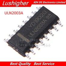 100PCS ULN2003ADR SOP ULN2003A SOP16 ULN2003 SMDใหม่
